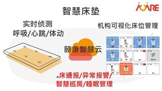 智慧感应床垫-第五届中国国际老龄产业博览会